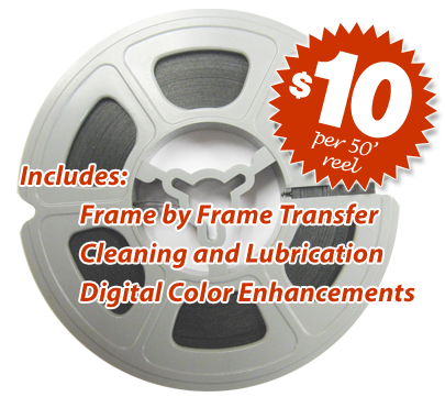 Super 8 And 8mm To Dvd Film Transfer Service